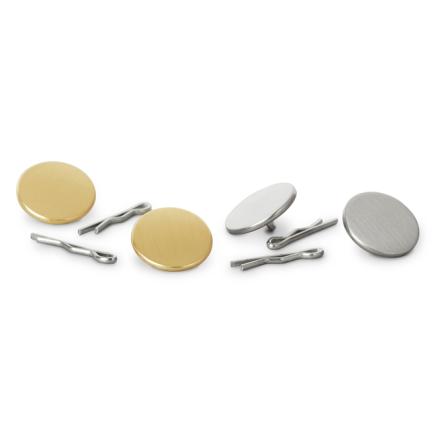 Metall knappar