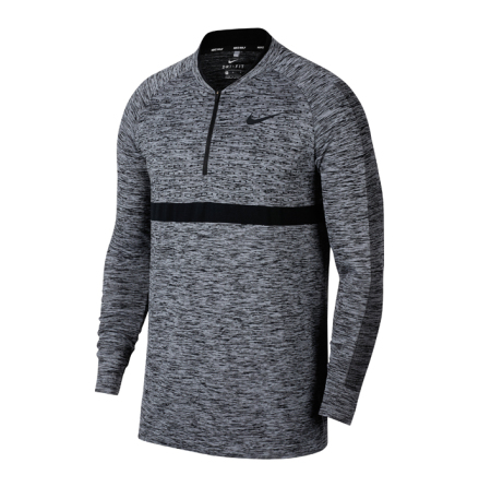 SEAMLESS KNIT 1/2 ZIP L/S COVER UP